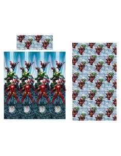 Juego sabanas Vengadores Avengers Marvel microfibra 90cm