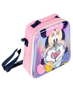 Bolsa portameriendas confetti Minnie Disney