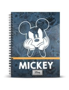 Cuaderno A4 Blue Mickey Disney