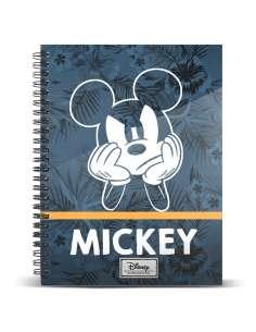 Cuaderno A5 Blue Mickey Disney