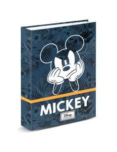 Carpeta A4 Blue Mickey Disney anillas