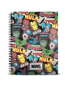 Cuaderno A5 Art Marvel