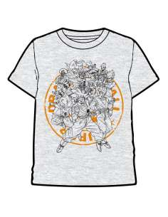 Camiseta Grupo Dragon Ball Super infantil
