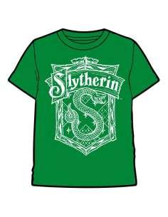 Camiseta Slytherin Harry Potter infantil