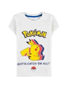 Camiseta kids Pika Silhouette Pokemon