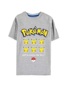 Camiseta kids Pika Expressions Pokemon