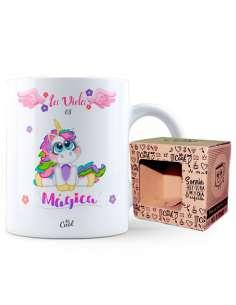 Taza La Vida Es Magica