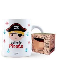 Taza Valiente Pirata Nino