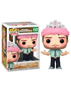 Figura POP Parks and Rec Andy as Princess Rainbow Sparkle