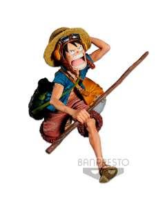 Figura Monkey DLuffy Banpresto Chronicle Figure Colosseum 4 vol1 One Piece 16cm