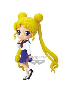 Figura Usagi Tsukino Pretty Guardian Sailor Moon Eternal the Movie Q Posket 14cm