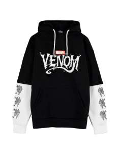 Sudadera capucha Venom Marvel