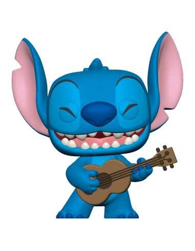 Figura POP Disney Lilo and Stitch Stitch with Ukelele