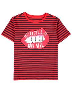 Camiseta mujer Lips Cruella Disney