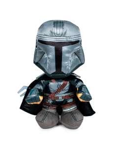 Peluche Warrior Mandalorian Star Wars 25cm