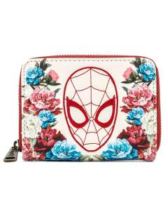 Cartera Floral Spiderman Marvel Loungefly