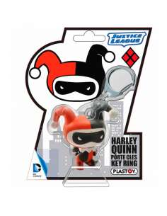 Llavero Harley Quinn Chibi Liga de la Justicia DC Comics