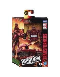Figura Warpath War For Cybertron Kingdom Transformers 14cm