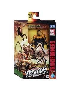 Figura Black Arachnia War For Cybertron Kingdom Transformers 14cm
