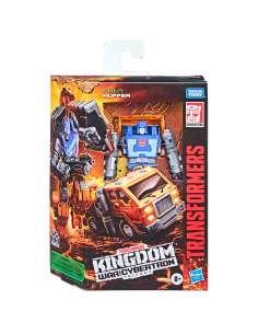 Figura Huffer War For Cybertron Kingdom Transformers 14cm