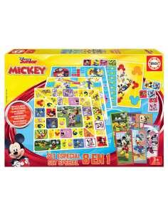 Set juegos 8 en 1 Mickey and Friends Disney