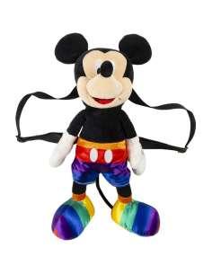 Mochila Peluche Pride Mickey Disney 40cm