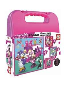 Puzzle Progresivo Minnie and the Happy Helpers Disney 12 16 20 25pzs