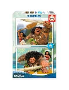 Puzzle Vaiana Disney 2x48pzs