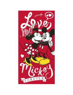 Toalla Mickey Minnie Disney algodon