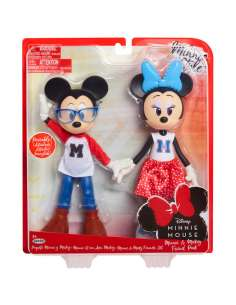 Pack 2 munecas Minnie and Mickey Mouse 24cm