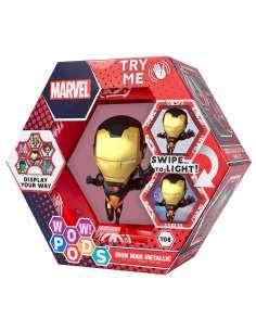 Figura led WOW POD Iron Man Gold Metallic Marvel