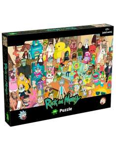 Puzzle Rick and Morty 1000pcs