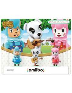 Pack Amiibo Animal Crossing...