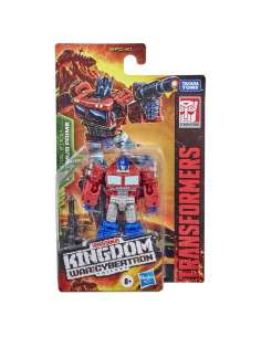 Figura Optimus Prime War For Cybertron Kingdom Core Class Series Transformers 10cm