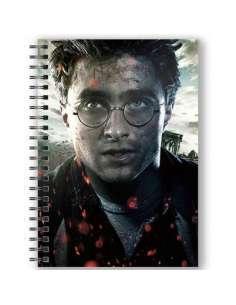 Cuaderno A5 3D Harry Potter