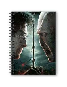 Cuaderno A5 3D Harry vs Voldemort Harry Potter