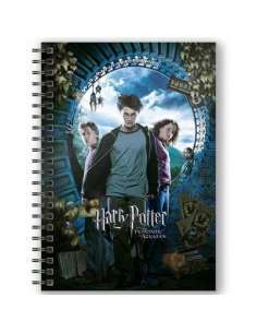 Cuaderno A5 3D Harry Potter y el Prisionero de Azkaban Harry Potter