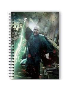 Cuaderno A5 3D Voldemort Harry Potter