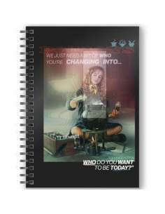 Cuaderno A5 3D Hermione Harry Potter