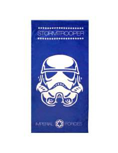 Toalla Stormtrooper Star Wars microfibra