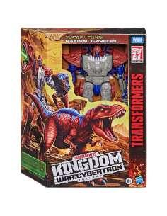 Figura Maximal T Wrecks War for Cybertron Kingdom Transformers 18cm