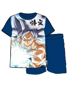 Pijama Goku Ultra Instinct Dragon Ball Super infantil