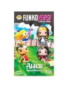 Juego mesa Ingles POP Funkoverse Alice in Wonderland Disney 2fig