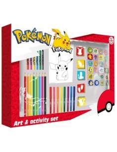 Set de Actividades Pokemon 67pzs