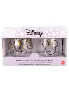 Set 2 vasos cristal Minnie Disney 510ml