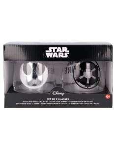 Set 2 vasos cristal Star Wars 510ml