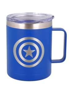 Taza termo acero inoxidable Capitan America Marvel 380ml