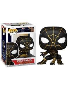 Figura POP Marvel Spiderman No Way Home Spiderman Black Gold Suit