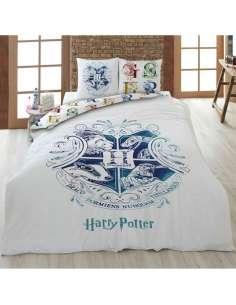 Funda nordica Hogwarts Harry Potter cama 90cm algodon