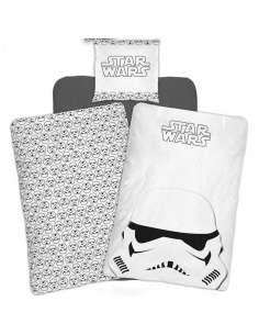 Funda nordica Stormtrooper Star Wars cama 90cm algodon